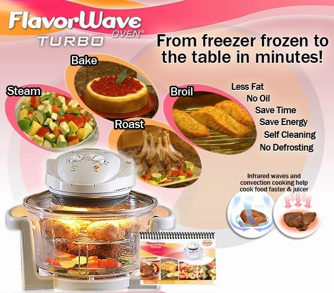oil Free Halogen Oven - 12 Litres (with Air Fryer Extension Ring)