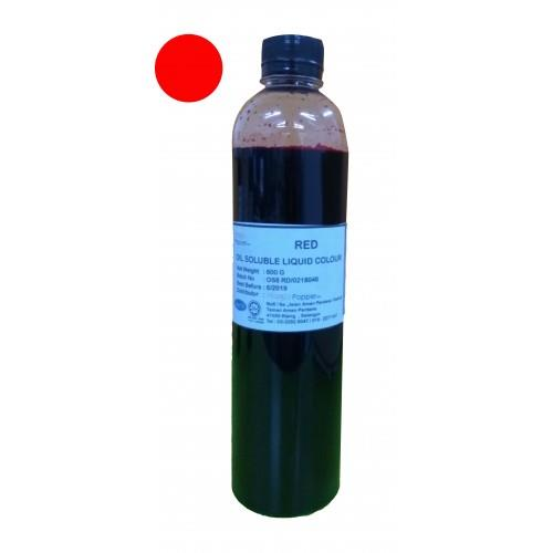 OIL SOLUBLE LIQUID COLOUR (RED)