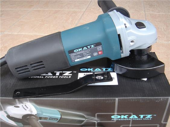 "Okatz 710W 4"" Variable Speed Control Angle Grinder"