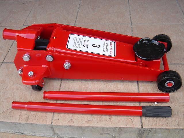 Good Okazawa 3 Ton Hydraulic Floor Jack