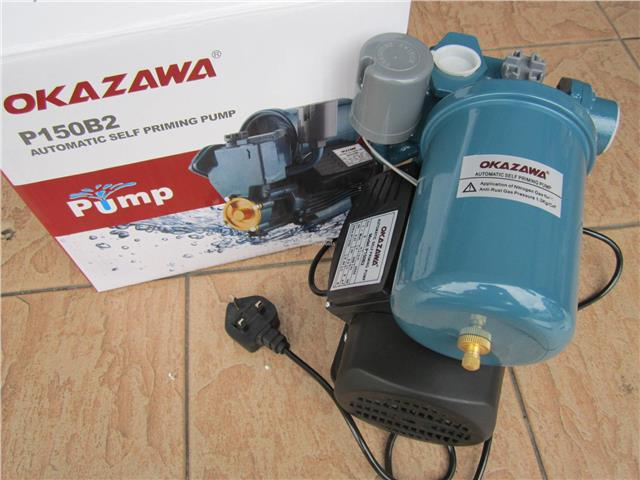 Okazawa 370W (1/2HP) Automatic Self-Priming Water Pump
