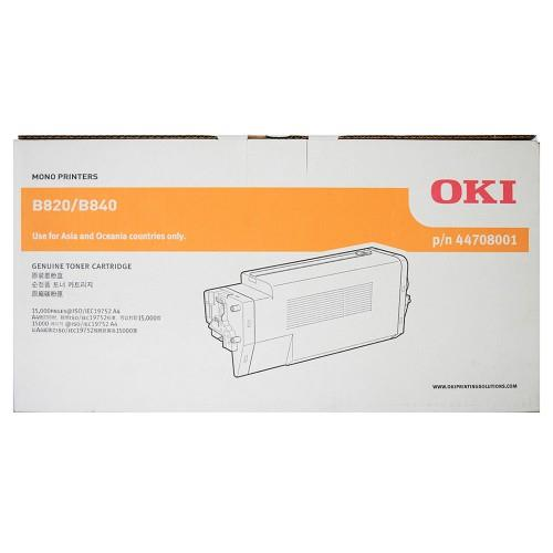 OKI B820/840 Toner Cartridge - 6K pages (44707701)