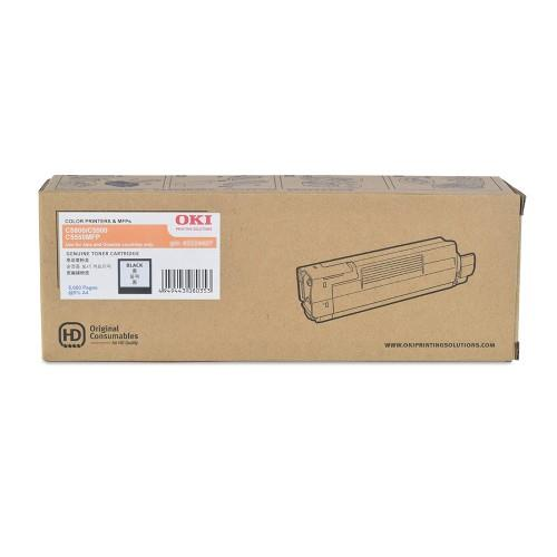 OKI C5550 C5800 Black Toner Cartridge (43324428) Genuine 5550 5800