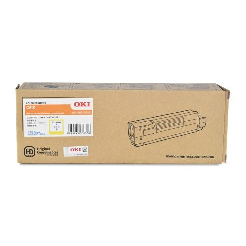 OKI C610 Yellow Toner Cartridge (44315309)