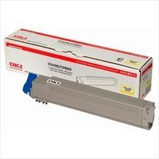 OKI Genuine C9600 / C9650 / C9800 Yellow Cartridge (42918917) 9600
