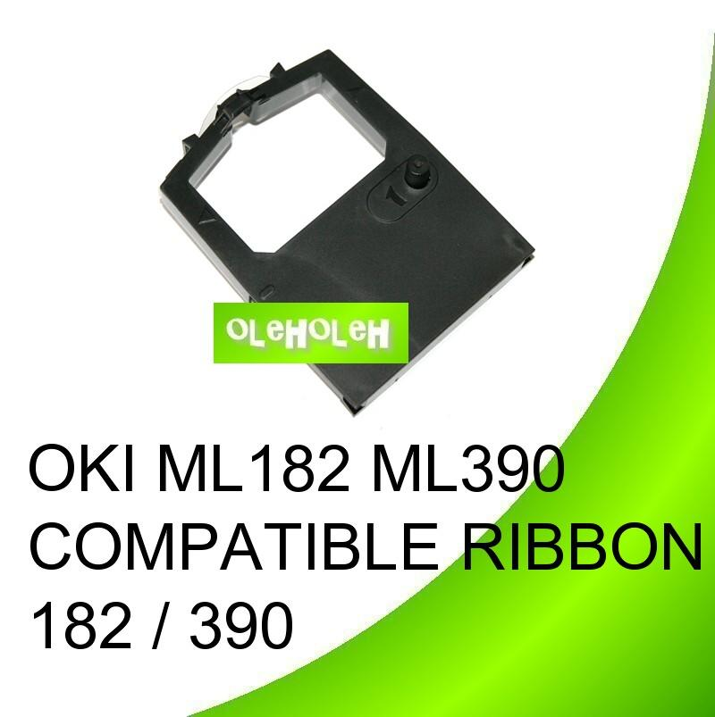 OKI ML182 ML390 Compatible Ribbon 182 / 390
