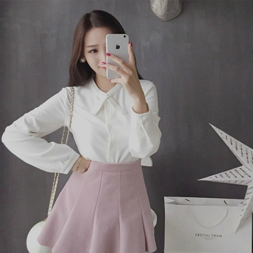OL FORMAL TOP (WHITE)