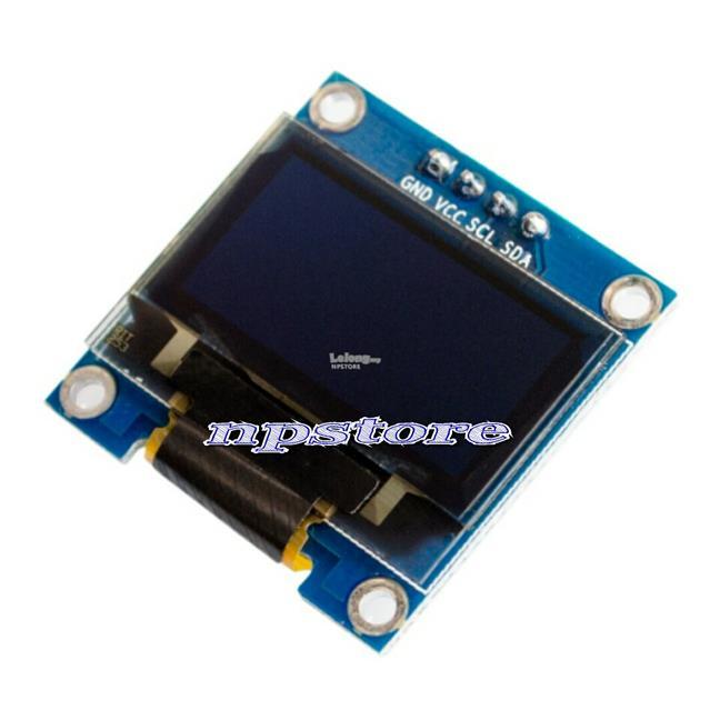 OLED LCD Display Module blue For Arduino 0 96' I2C IIC