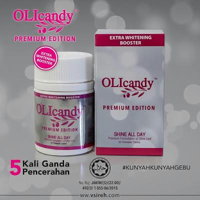 OLIcandy Premium Edition Extra Whitening Booster OLI candy