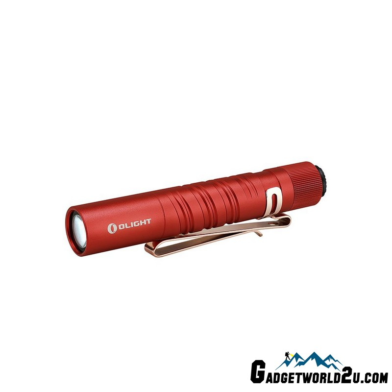 Olight I3T EOS Red Dual-Output Luxeon TX CW LED 180L Flashlight