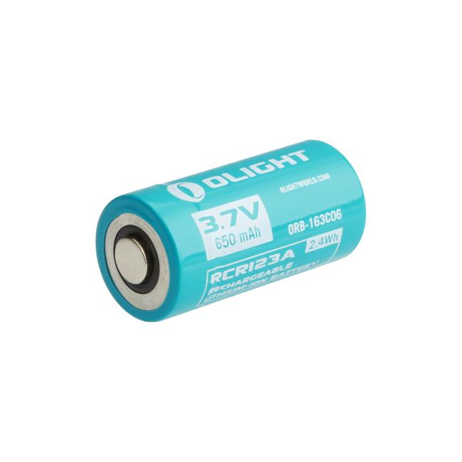 Olight ORB-163C06 IMR RCR123A/16340 650mAh Lithium Ion Battery