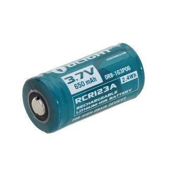 Olight RCR123 RCR123A 16340 Lithium-ion 650mAh Rechargeable Battery