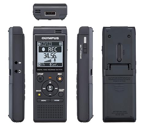 OLYMPUS DIGITAL VOICE RECORDER DIRECT USB 4GB VN-741PC