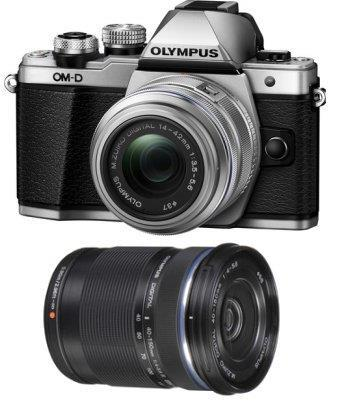 Olympus E-M10 MK2 Mark II 14-42+40-150 Twin +16GB+Bag+Battery (MSIA)
