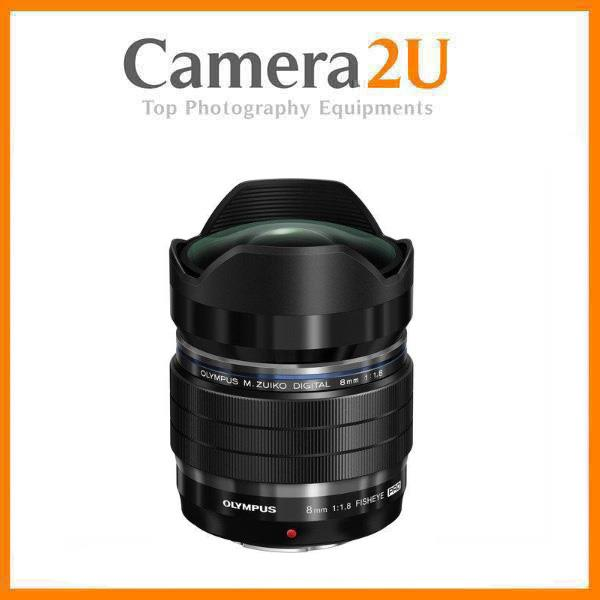 Olympus M.Zuiko Digital ED 8mm f/1.8 Fisheye PRO Lens (Import)