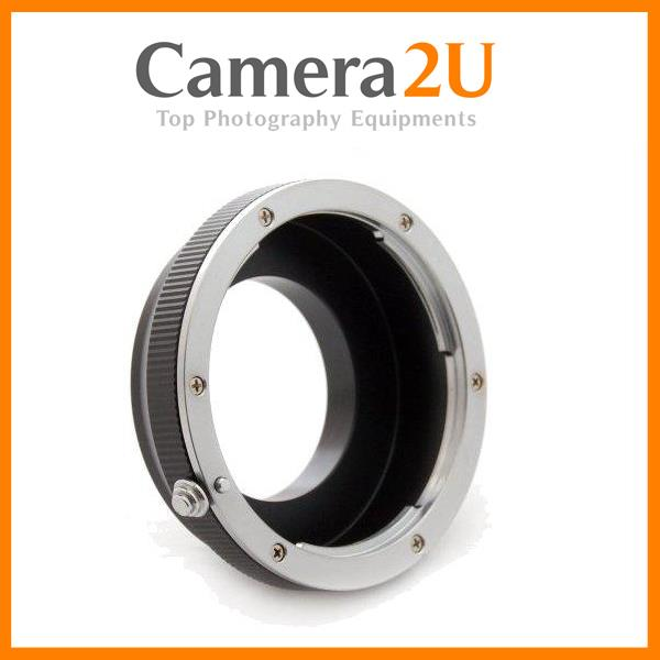 New Olympus OM Lens To Nikon 1 Body Mount adapter