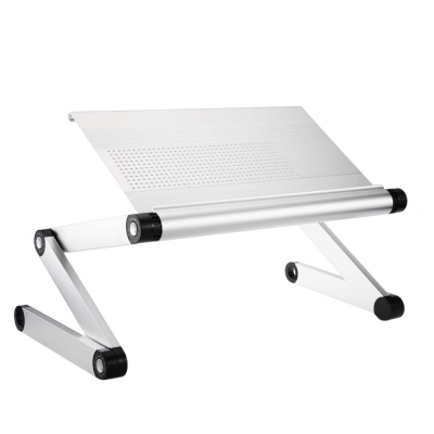 OMAX A6 Adjustable Height Laptop Desk Notebook Table With Vented Stand.