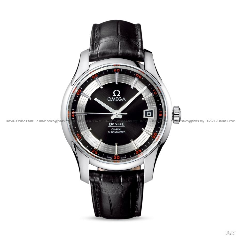 OMEGA Watch 43133412101001 De Ville Hour Vision Co-Axial COSC Leather