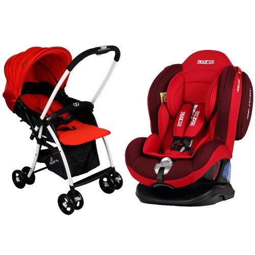 Deal Sparco F2000K Convertible Car Seat Koopers Galileo Stroller PA