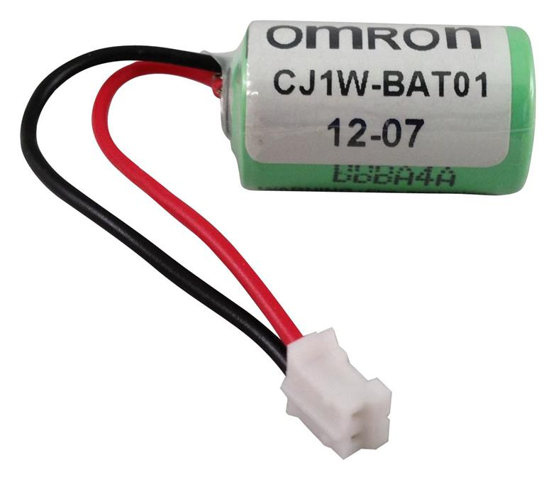 OMRON CP1W-BAT01 3v PLC Industrial Lithium Battery with Plug