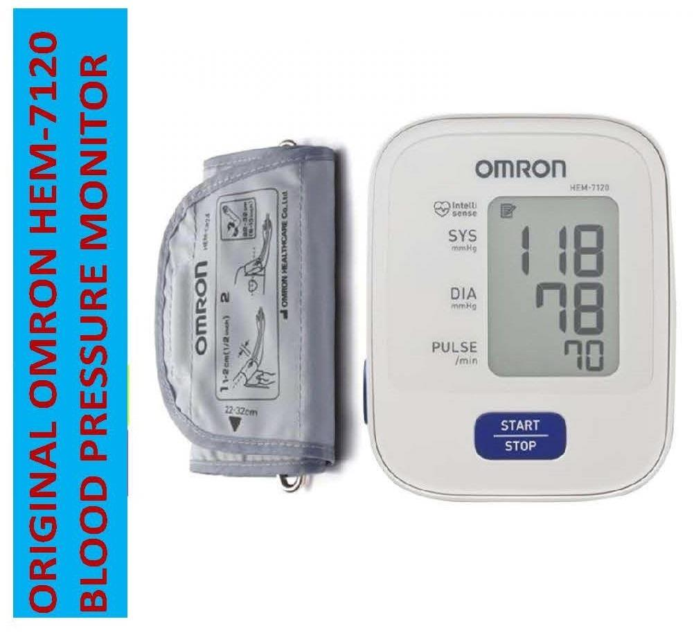 Omron HEM 7120 ORIGINAL Automatic Blood Pressure Monitor
