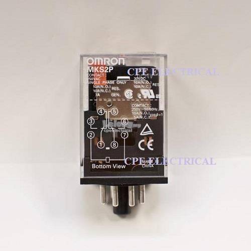 Omron relay price harga in malaysia lelong omron mks2p 8 pin power relays ac240v ac110v dc24v dc12v publicscrutiny Image collections