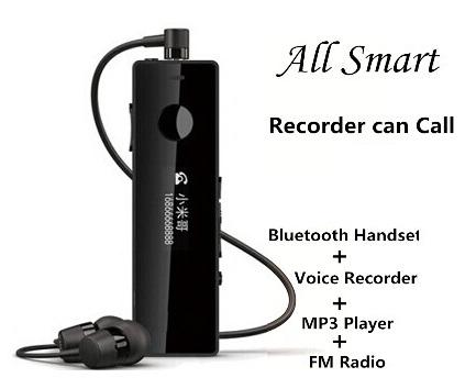 All in One Bluetooth Digital Voice Recorder (WVR-05A).