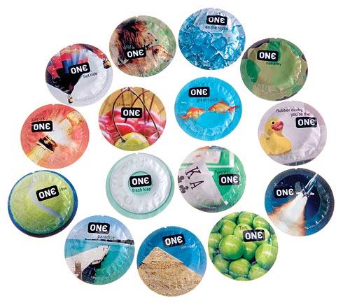 One Condom Indulgence Mixed Condoms 15pc + Double Vibrater Bullets