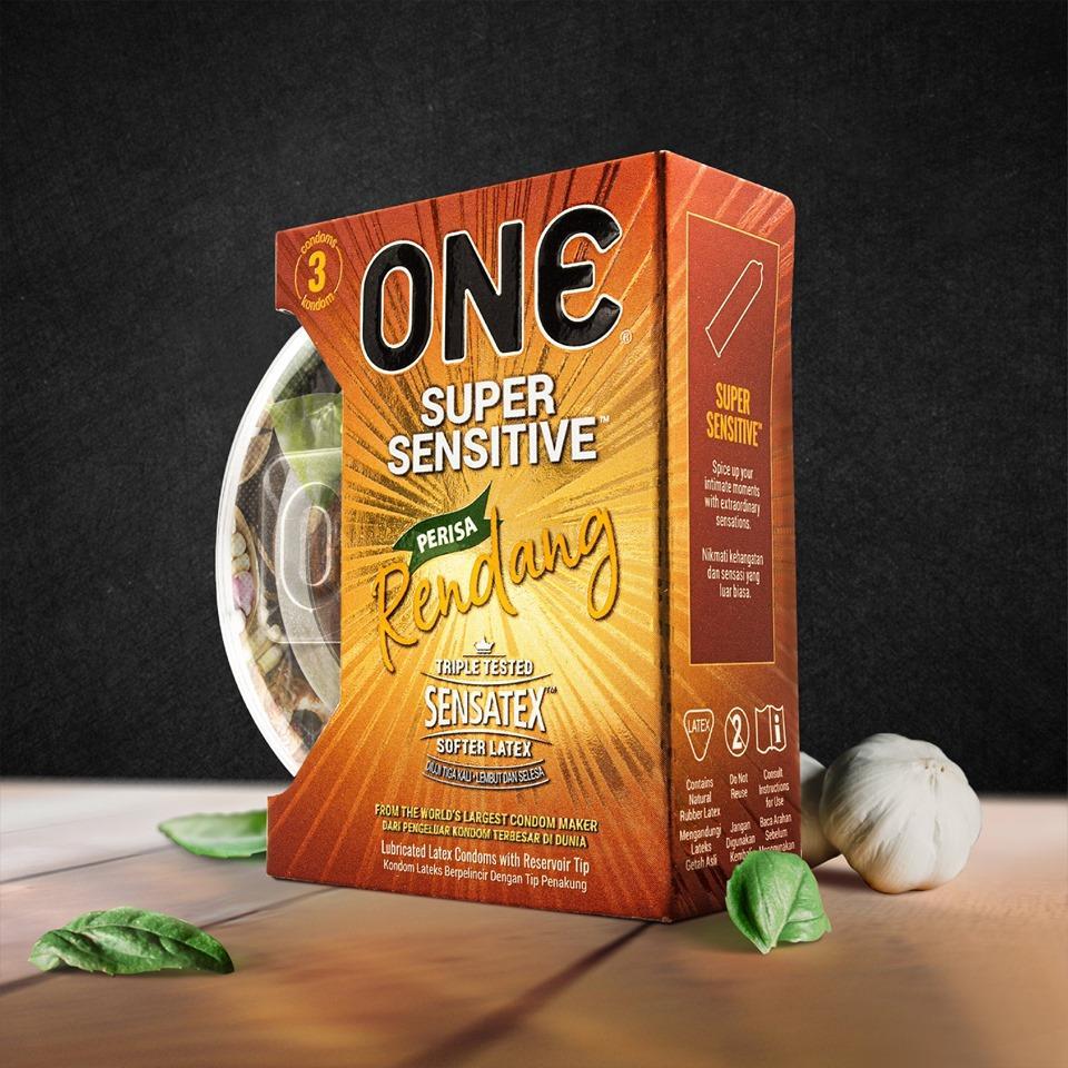 One Condom Rendang Flavored Super Sensitive 3s
