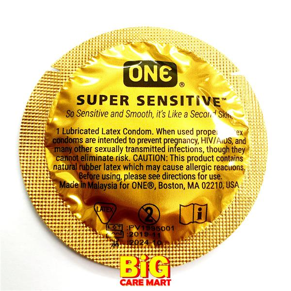 ONE Condom Super Sensitive 36 pieces in Jar