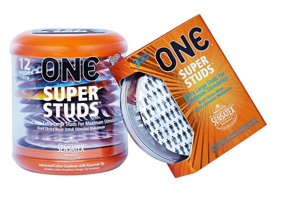 ONE Condom - Super Studs 12-pack