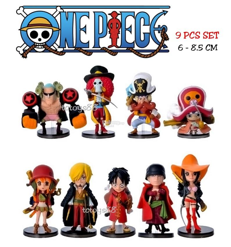 One Piece Action Figure Monkey D Luffy One Piece Figures Cake Topper