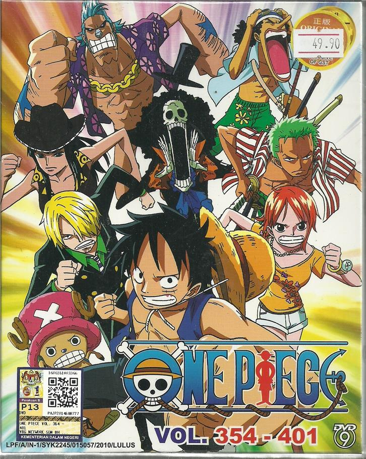ONE PIECE (BOX 8) - ANIME TV SERIES (end 10/20/2017 4:15 PM)