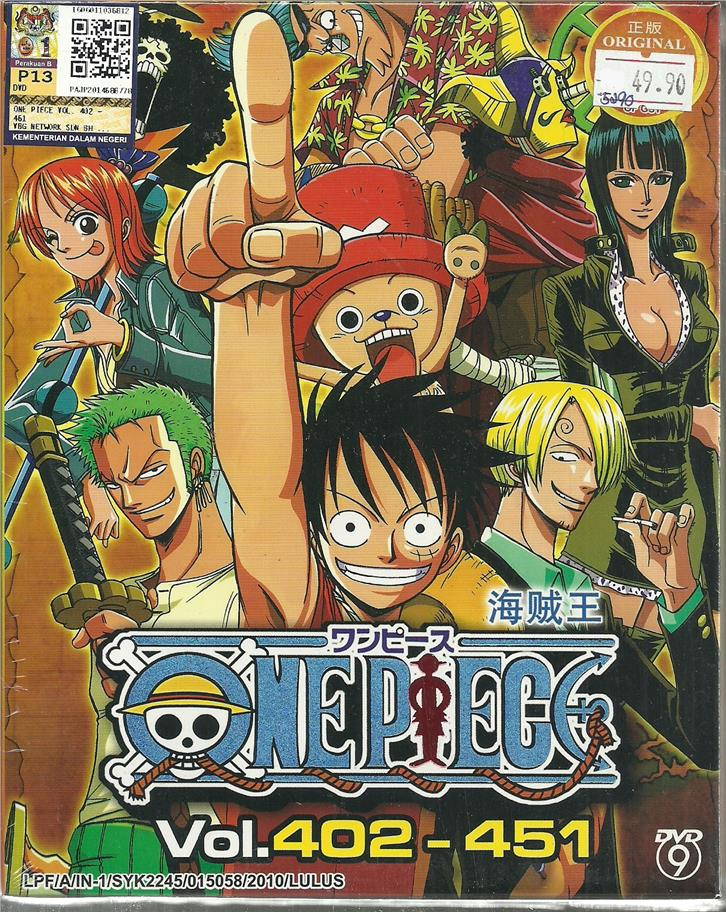 ONE PIECE (BOX 9) - ANIME TV SERIES (end 10/20/2017 4:15 PM)