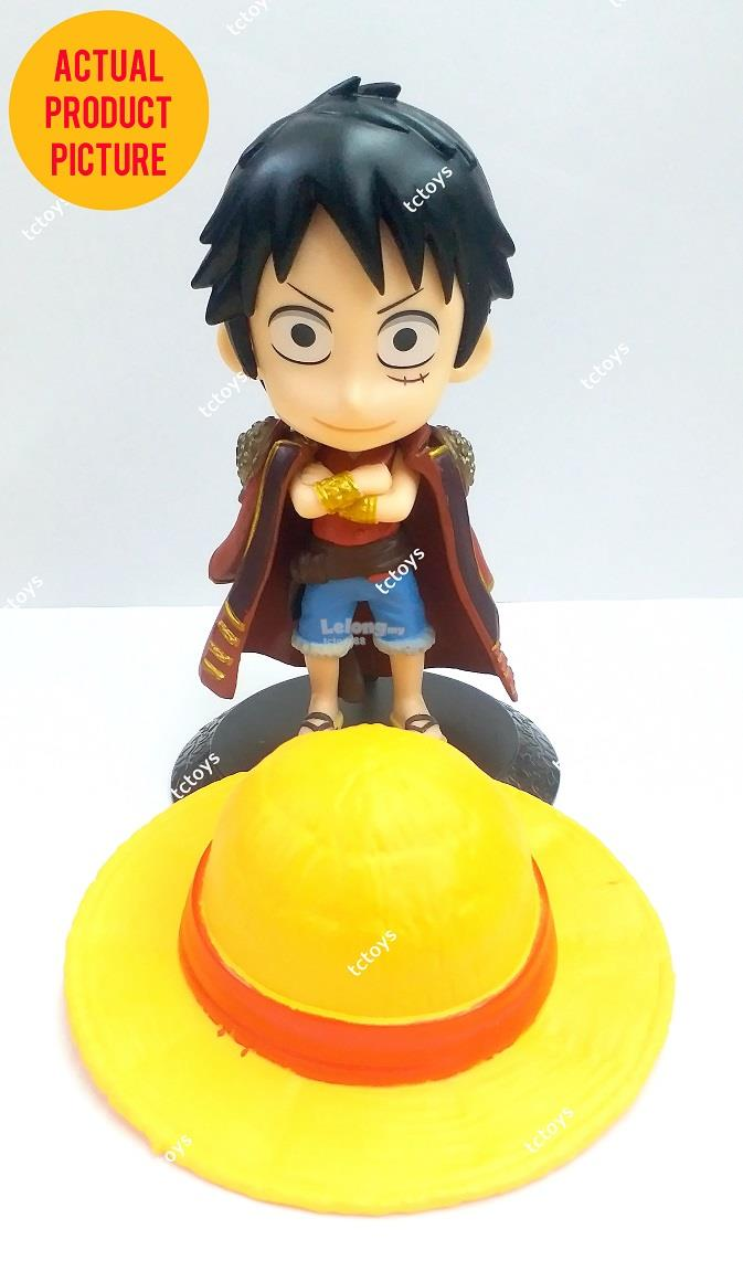 ONE PIECE FIGURE Q VERSION LUFFY QPOSKET MONKEY D LUFFY ACTION FIGURES