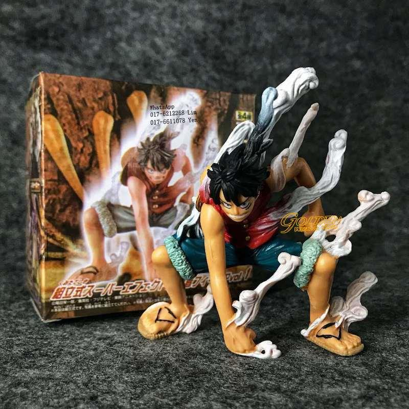 One Piece Monkey D Luffy Second Gear First Outbreak Action Figure