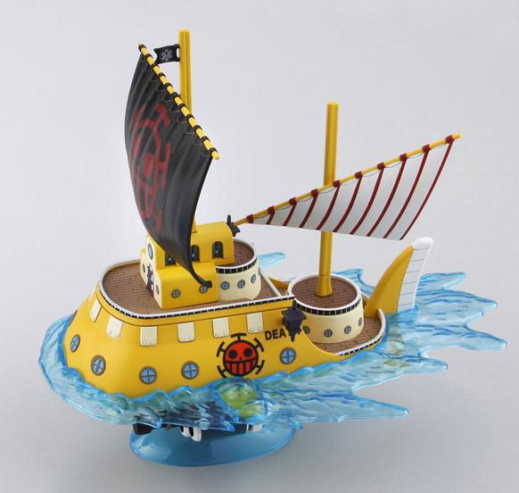 One Piece Trafalgar Law Submarine Figure with small Character Offer