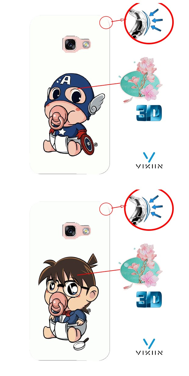 One Plus 5 1+5 Armor DIY Case Casing Cover Cute Cartoon Customize
