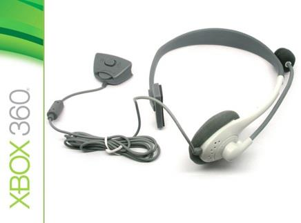 One Side XBOX 360 Gaming Headphone Microphone Live