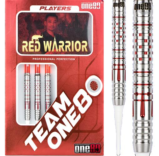 ONE80 (Personal Signature) Soft Tip Dart - Red Warrior - Yong Thanawat (23g)
