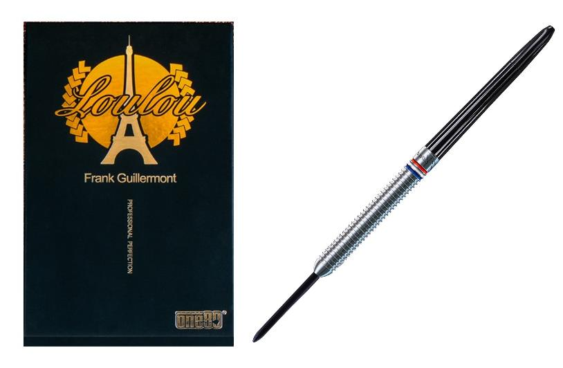 ONE80 STEEL TIP DART - Franck Guillermont Loulou (22G)