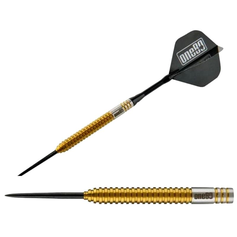 ONE80 STEEL TIP DART - Golden Tricky - Richie Edwards (24g)
