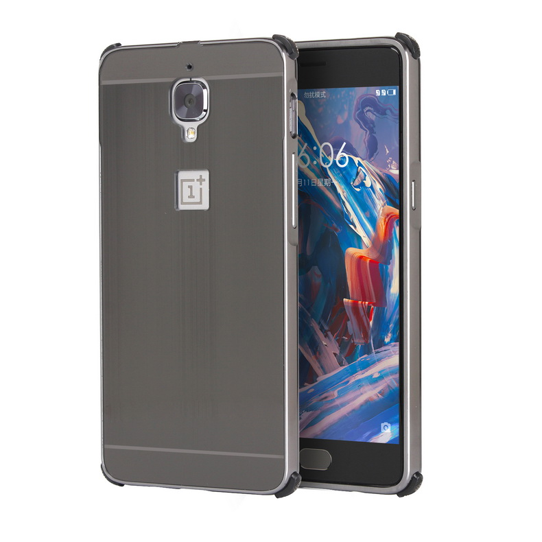 oneplus 3 PC Metal Armor Shakeproof Case Casing Cover