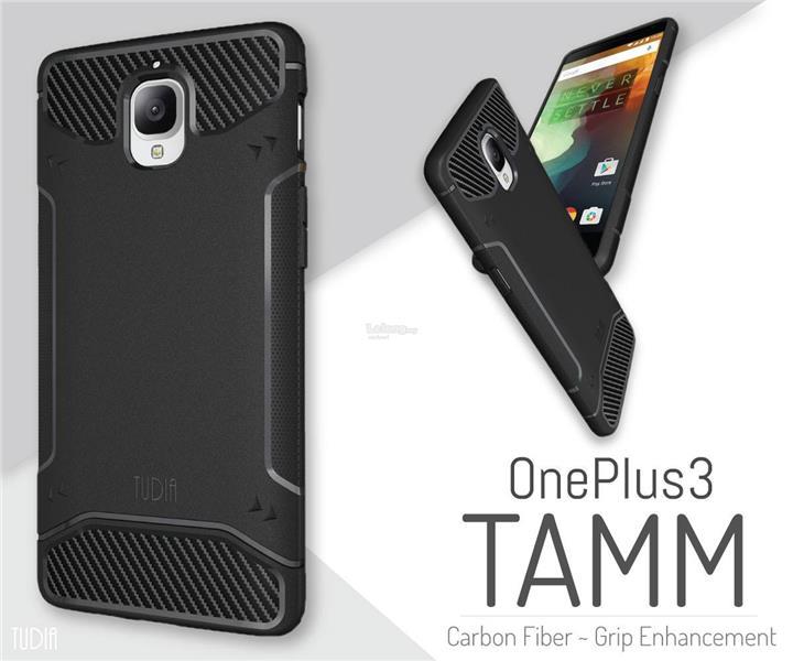best cheap 88699 69ef6 OnePlus 3 TUDIA Carbon Fiber Slim Tough Case [TAMM] - spigen