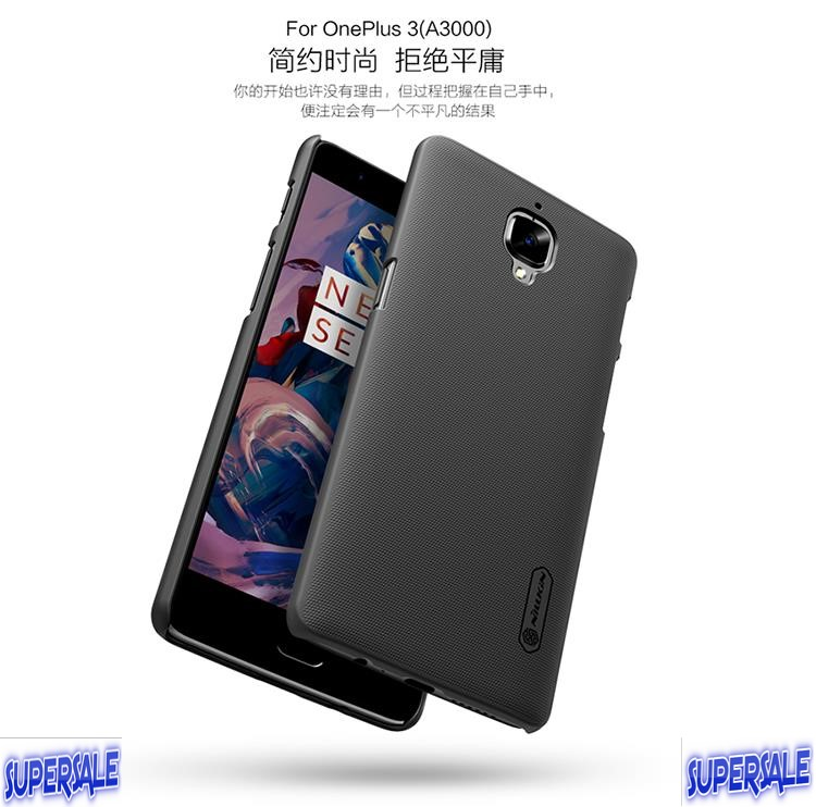 OnePlus 3T/3 Protective Matte Mobile Phone Hard Cover Case Casing
