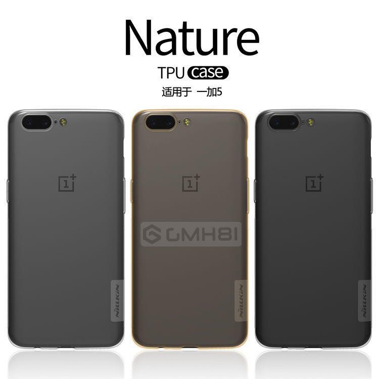 super popular 91c24 b626b OnePlus 5 3 3T Nillkin NATURE 0.6mm Ultra Slim TPU Soft Cover Case