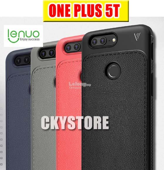 OnePlus 5T 1+5T LENUO New Leather Full Protection Back Case