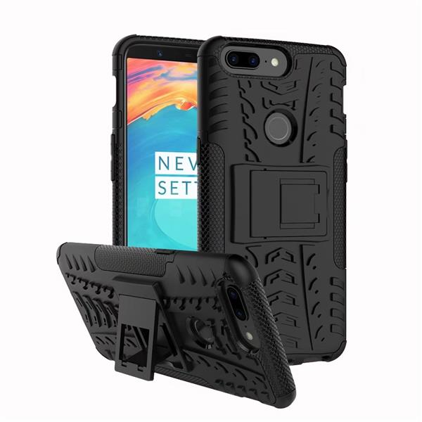 ONEPLUS 5T TYRE DESIGN BACK CASE WITH STAND