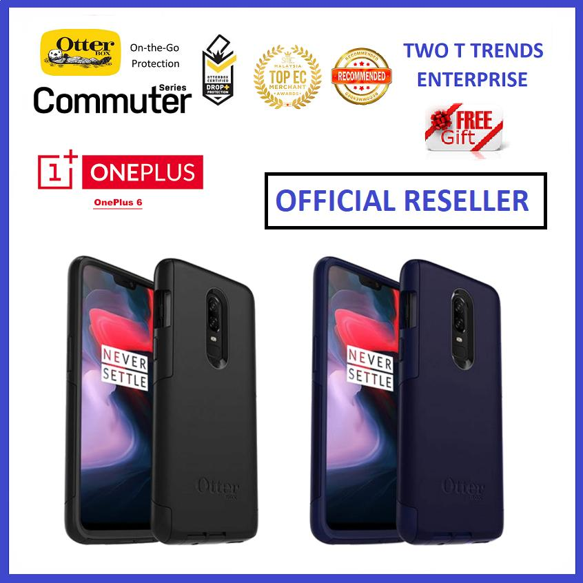 best cheap 747b4 ecb5b OnePlus 6 1+6 OtterBox Commuter Series Case Bumper Cover ORIGINAL