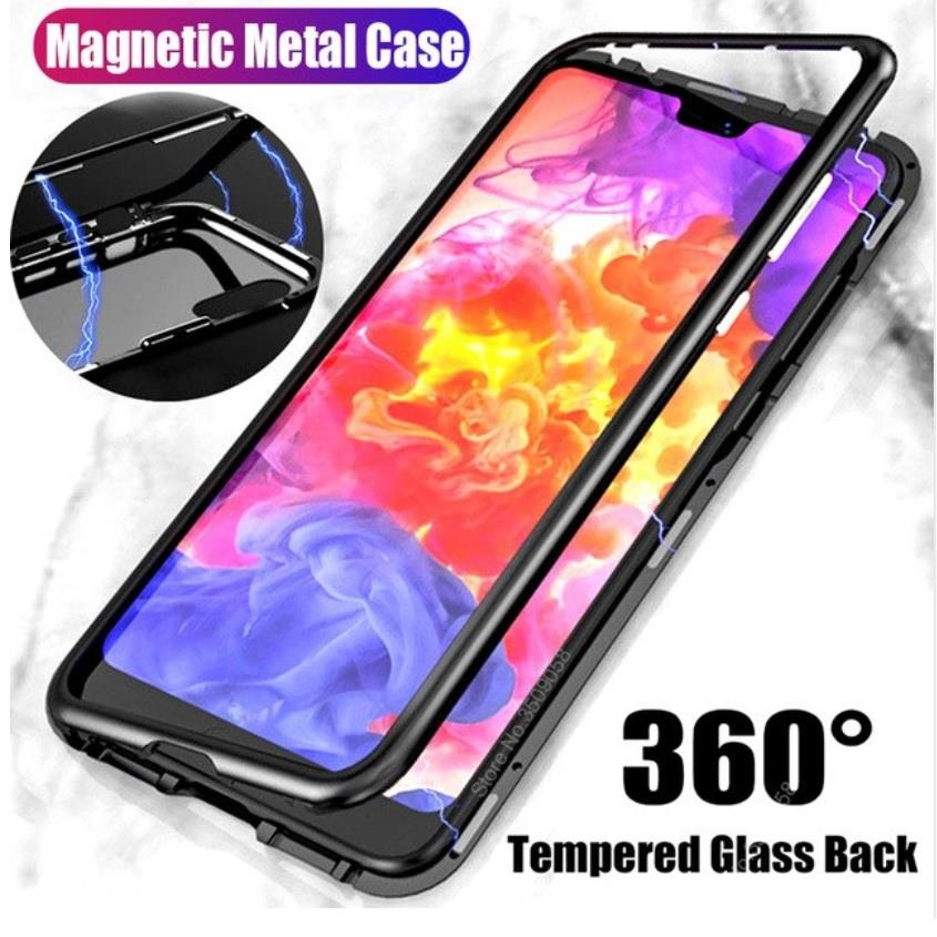 half off 12748 be5a4 OnePlus 6 360 Magnetic Magnet Absoption Metal Premium Case
